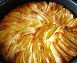 Torta di mele e limone