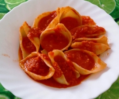Salsa di pomodoro con soia granulare