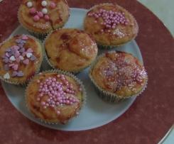 Muffin con marmellata di ciliegia