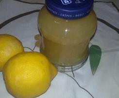 Marmellata di limoni bio con scorza