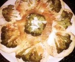 crepes&broccoli& salmone fumè