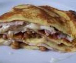 Lasagnette di Crepes al radicchio Trevisano