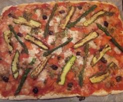Pizza Primavera (senza glutine)