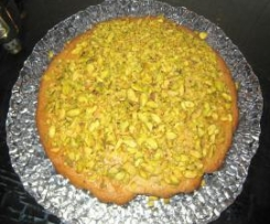 torta soffice di pistacchi