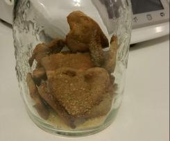 Biscotti di castagne e mandorle