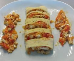 Omelette Peperoni e Tofu