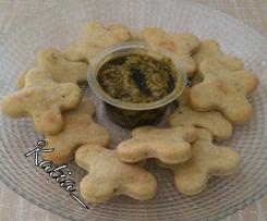 Frollini al pesto - Contest biscotti salati