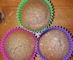 Muffin (SENZA GLUTINE) con preparato tipo nesquik fatto in casa