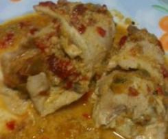 involtini di pollo con crema di peperoni