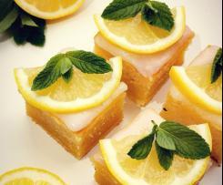 Brownie al limone