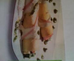 cannelloni asparagi e pesto