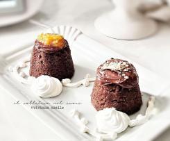 Pudding di pane al cioccolato e frutti rossi cotto al varoma - Contest ristorante