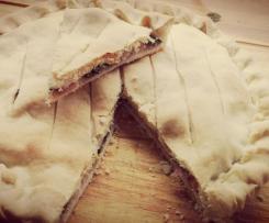 Torta rustica con rape e pancetta - Contest rapa