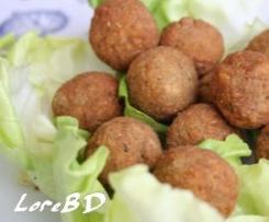 Polpettine di ceci (falafel)