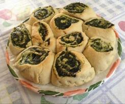 Torta di rose ricotta e spinaci