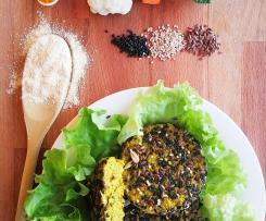 Burger vegetali con pochi grassi