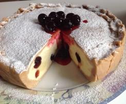 Torta semifreddo crema e amarene