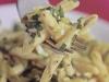 Pasta al sugo di lattuga