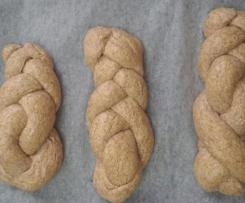 Pane integrale alla crusca d'avena.