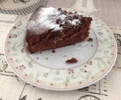 Torta sofficissima al cioccolato fondente