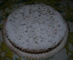 Torta pasticciotto alla crema