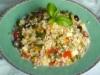tre cereali in insalata