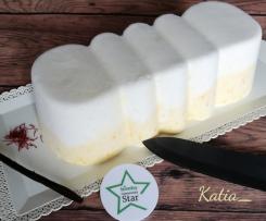 Semifreddo vaniglia e zafferano - Contest torte senza cottura