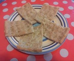 Focaccia con la farina di Teff (senza glutine)