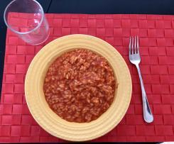 Risotto rosso (al sugo di pomodoro)