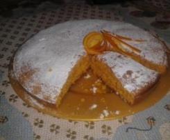 Torta alla zucca al profumo d'arancia