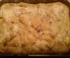 Pasta al forno della zia Angela.