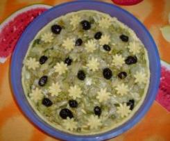 Crostata Salata alla SCAROLA