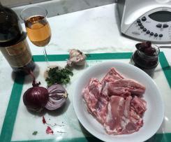 Agnello alla vernaccia/contest ricette con il vino