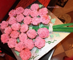 cupcake bouquet di rose con crema paradiso ( CONTEST)