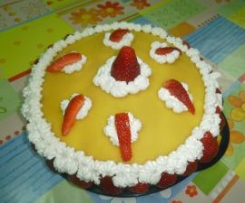 la mia torta d'anniversario.....