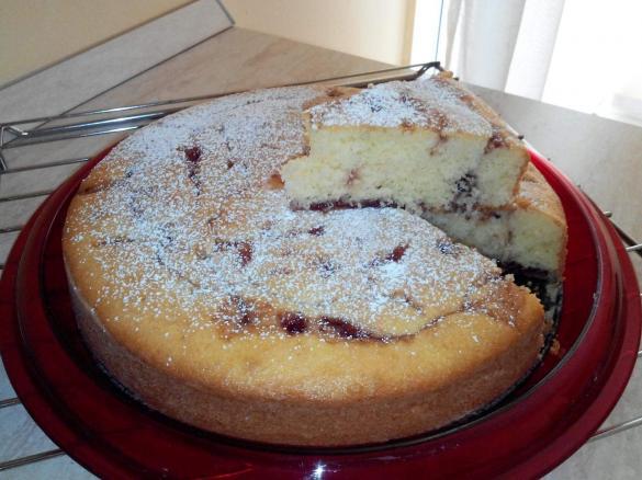 Torta Soffice Alla Marmellata