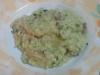 Risotto speck zucchine e gorgonzola
