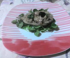 Quinoa con melanzane e tonno (contest piatti freddi di pesce)