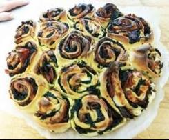 torta di rose Pasquale salata x buffet