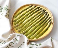 Crostata salata di ricotta e asparagi