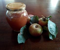 Confettura di mele di campo (dal sapore di mela appena colta)