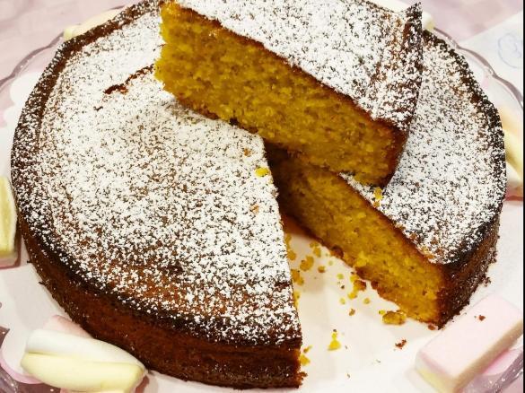 Torta Mandorle Bimby.Torta Alle Carote E Mandorle