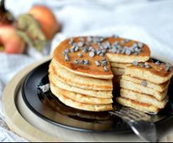 Pancakes con impasto alle mele e yogurt greco (senza uova e senza zucchero) - Contest Mele