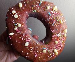 Donuts Mirtilli & Fragole (cotti al forno)