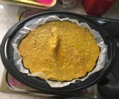 Frittata con carote al curry
