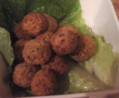 Falafel di ceci (polpettine di legumi)