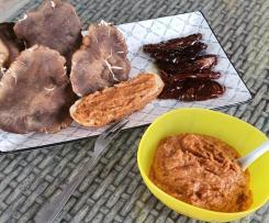 Crema di funghi e pomodori secchi