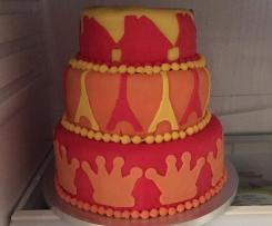 Torta di compleanno ( Madeira cake alla mandorla)