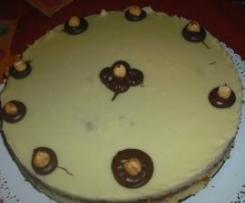 torta eleganza al cioccolato bianco