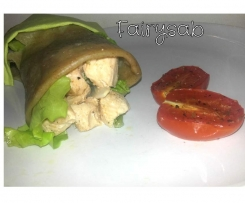 Chicken Wrap (Involtino di pollo al vapore)
